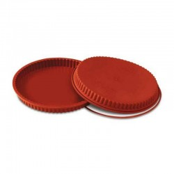 Stampo in silicone decorato Crostata Maxi