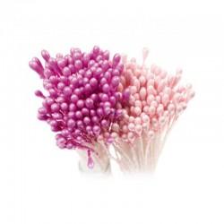 Pistilli rosa fiori 72 pz
