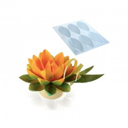 Stampo per Fiore di Loto di Cioccolato