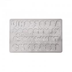 Stampo per Lettere di Cioccolato
