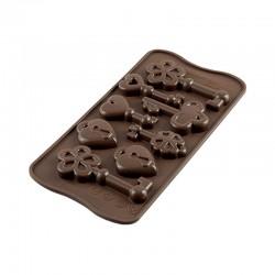 Stampo silicone Chiavi e Lucchetti