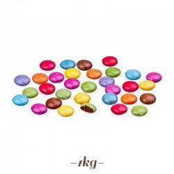 Smarties in cioccolato confettato per torte (mini lenti)