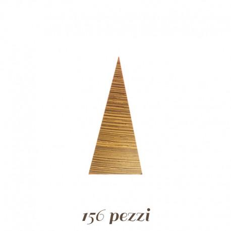 Triangoli di Cioccolato Dorati