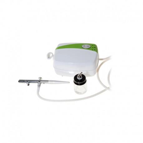 Kit Aerografo con Aeropenna e compressore