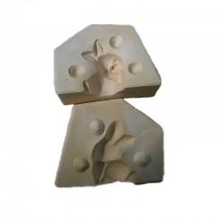 Stampo Coniglietto 3D marzapane