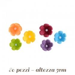 Fiorellini di zucchero vari colori (margheritine)