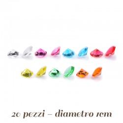 Diamanti di Gelatina Vari colori