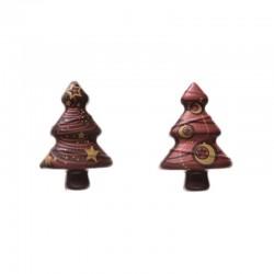 Abete in Cioccolato per decorazioni 80 pezzi