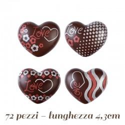 72 Cioccolatini a Cuore 2D