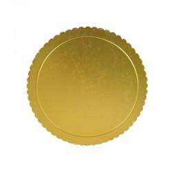 Dischi oro sottotorta in Cartone Sottile per torte 5/ 10 kg