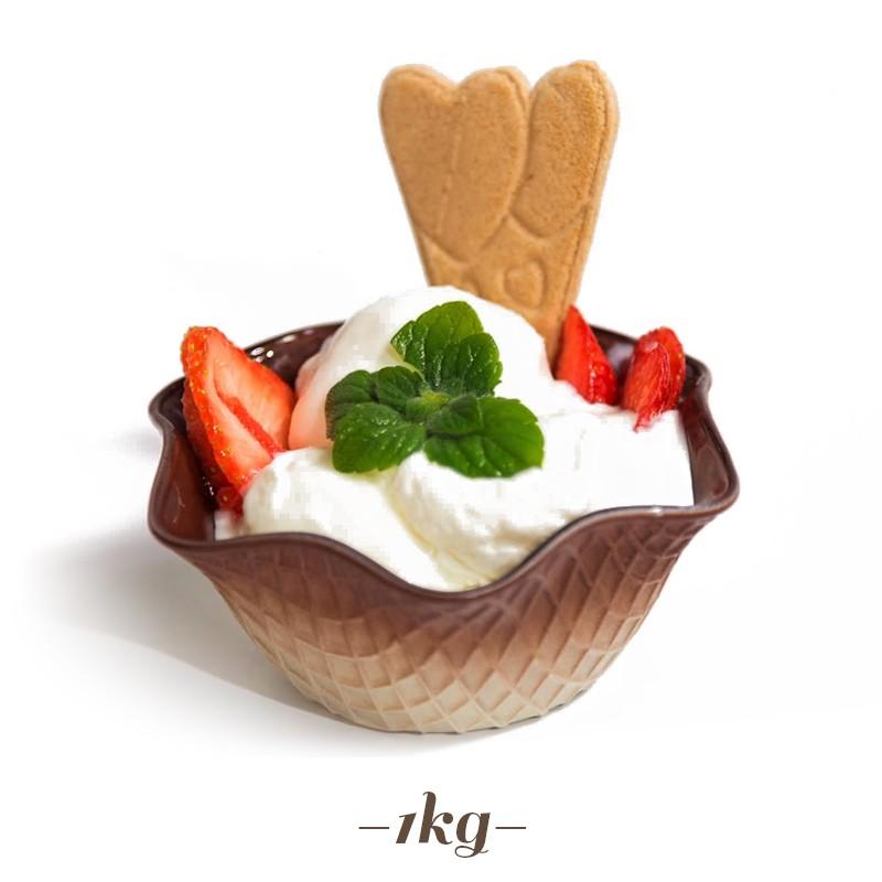 Ricetta Yogurt Per Macchina Soft.Preparato Pronto Per Gelato Allo Yogurt