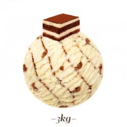 Pasta per Gelato gusto Tiramisu'