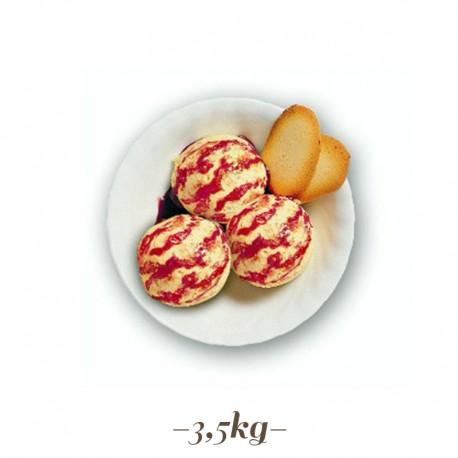 Pasta per Gelato gusto Zuppa Inglese