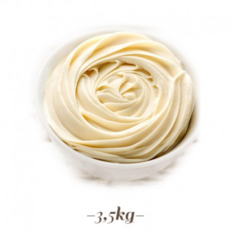 Crema al Cioccolato Bianco per gelato