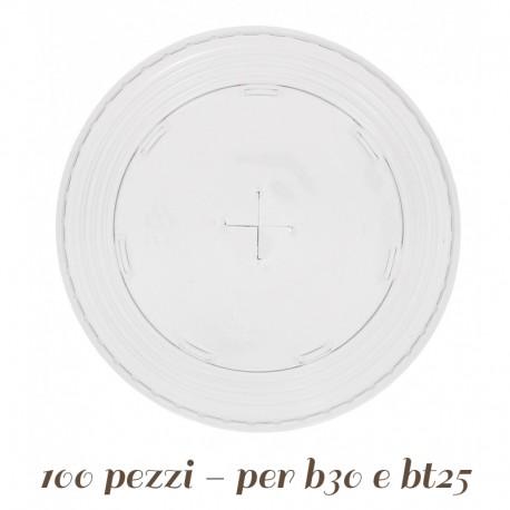Coperchio in Plastica a Croce per Cannuccia
