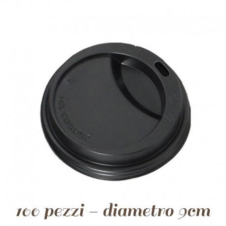 Coperchio con Beccuccio Cannuccia per bicchieri