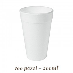Bicchiere di Polistirolo Espanso 200 ml