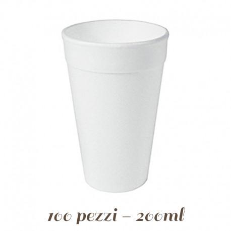 Bicchiere di Polistirolo Espanso
