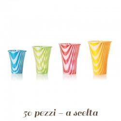 Bicchiere per Bibite Drink Mix colorato