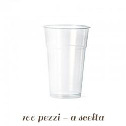 Bicchieri in Plastica Biodegradabili varie misure