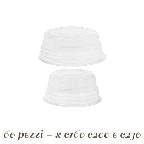 Coperchi per coppette C160 C 200 C 230