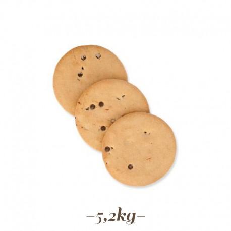 Cioccogel Biscotto Tondo al cioccolato per gelati