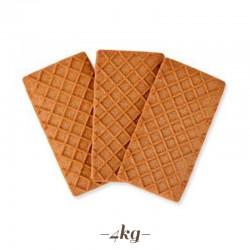 370 pezzi Bisgel Biscotto retinato al cacao per Gelati 4 kg