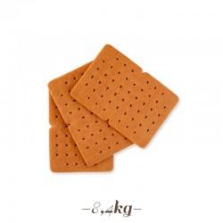 Biscotto al cacao doppio per gelati