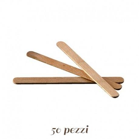 Stecchi per Gelato in Legno 50 pezzi