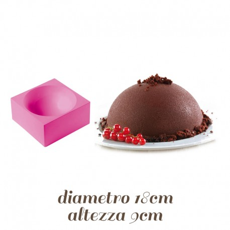 Stampo per Zuccotto in silicone 18