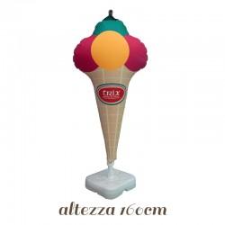 Pallone a forma di Gelato per gelaterie