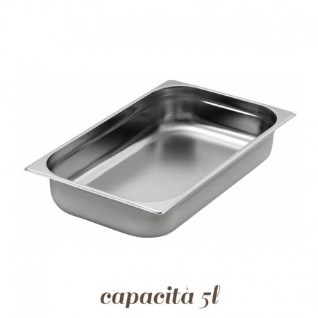Vaschetta Inox per Gelato 36x25