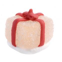 Caramella in zucchero a forma di Pacchetto 3d