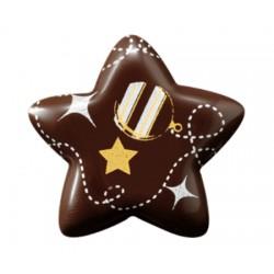 Stelle di Natale in cioccolato 3d per decorazioni