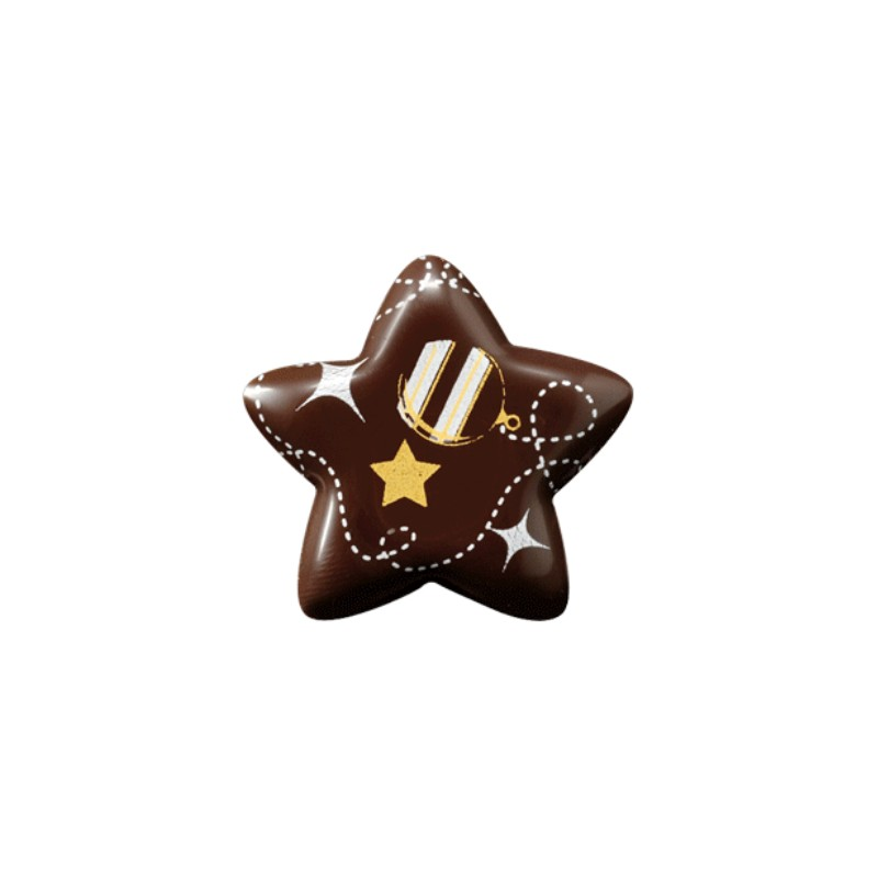 Acquista On Line Le Stelle Di Cioccolato 3d Per Decorazioni