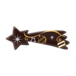 Stelle di cioccolato fondente Senza glutine