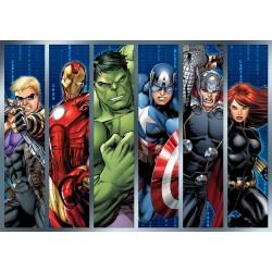 Ostia per torta Avengers
