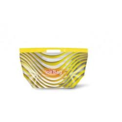 Buste Ice termiche GIALLE per gelato e alimenti 35 x 22 cm
