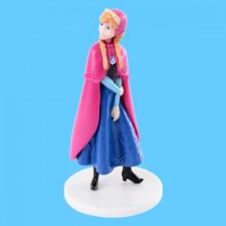 Anna serie Frozen per torte h 8 cm plastica