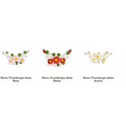 Ramo thumbergia alata vari colori per torte