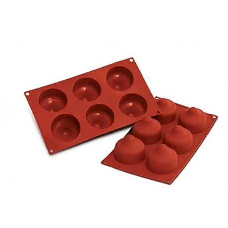 Stampo silicone 6 Baci Silikomart