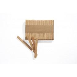 500 Mini Stecchi Gelato in legno 7.2 x 8 cm