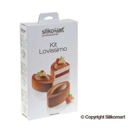 Stampo Lovissimo per torte moderne Silikomart