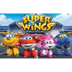 Cialda Super Wings Aeroplanini Rettangolare per torte
