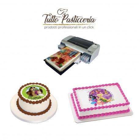 Stampa alimentare Foto Personalizzata su Cialda o Pasta di zucchero