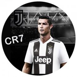 Cialda per torte Ronaldo rettangolare o tonda