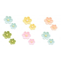 120 Anemoni perlescenti in zucchero colori assortiti