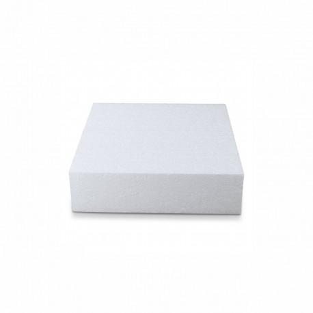 Base polistirolo quadrata 10 x 10 bianca H 5 CM
