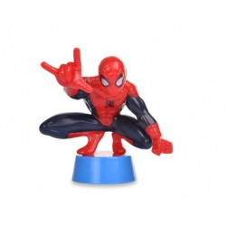 Spiderman in Plastica per torte H 6.5 CM