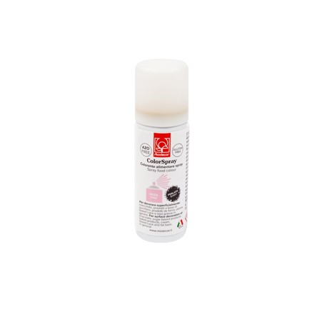 Colorante Spray ROSA PERLATO 50 ml SENZA GLUTINE